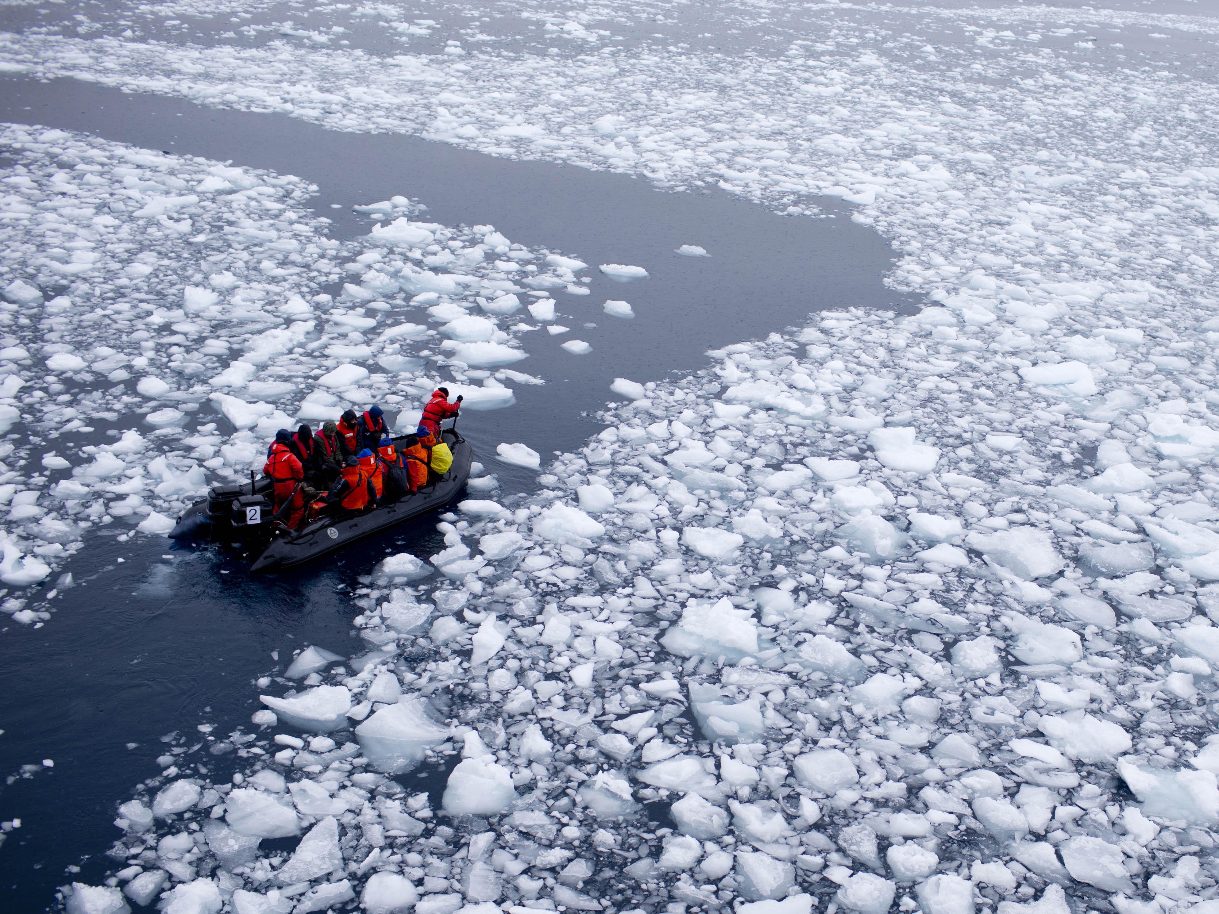 Antarctica Glacial Melting