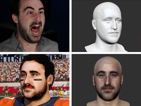 Walter Hickey Digital Face Scan