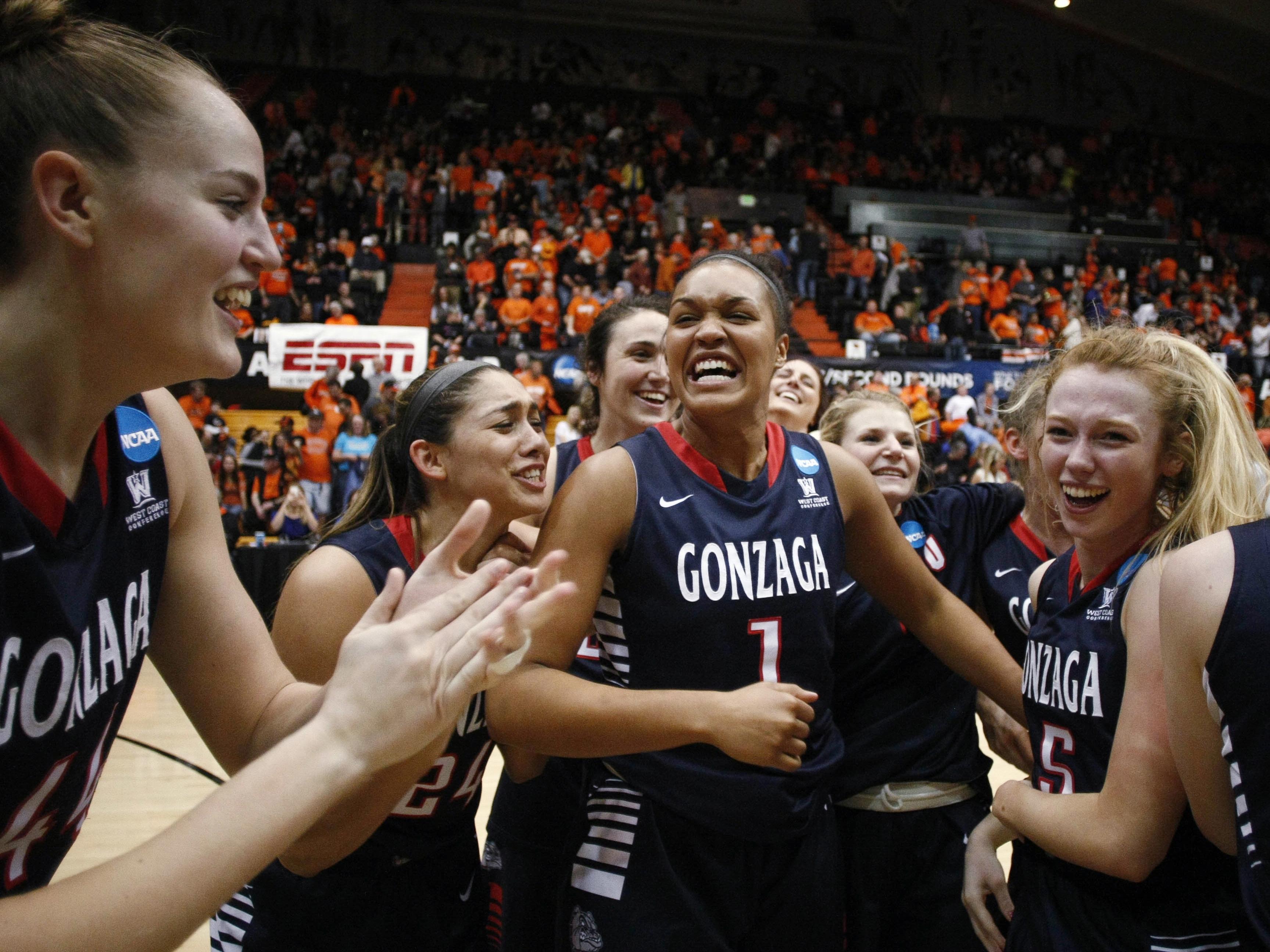 Gonzaga Oregon St Basketball