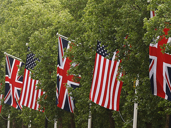 Preparations Are Made Ahead Of US President Barack Obama's Visit To The UK