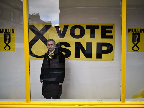 SNP Open A Campaign Shop In Former Prime Minister's Constituency