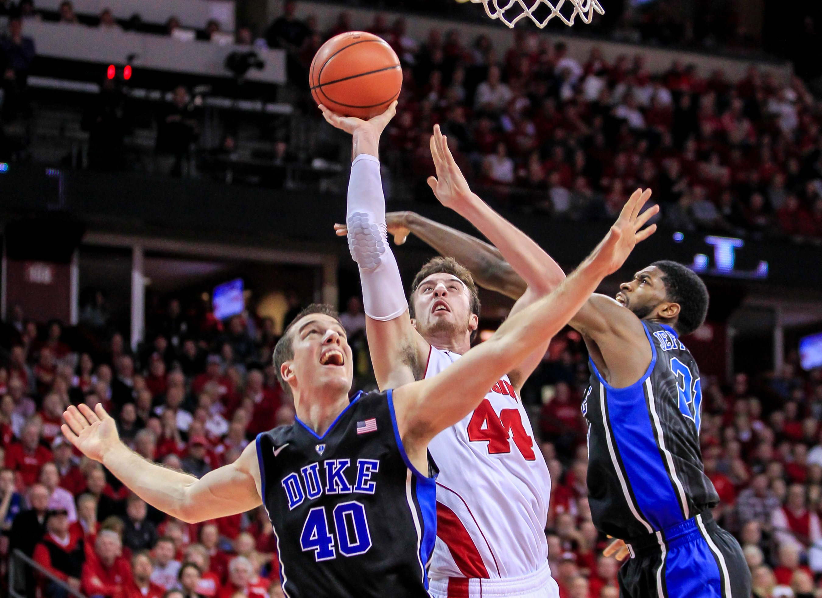 March Madness Crib Notes: Duke And Wisconsin Flip A Coin