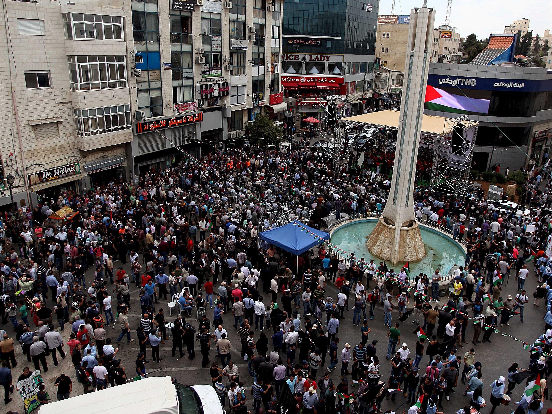 67th Anniversary of Nakba celebrated in Ramallah