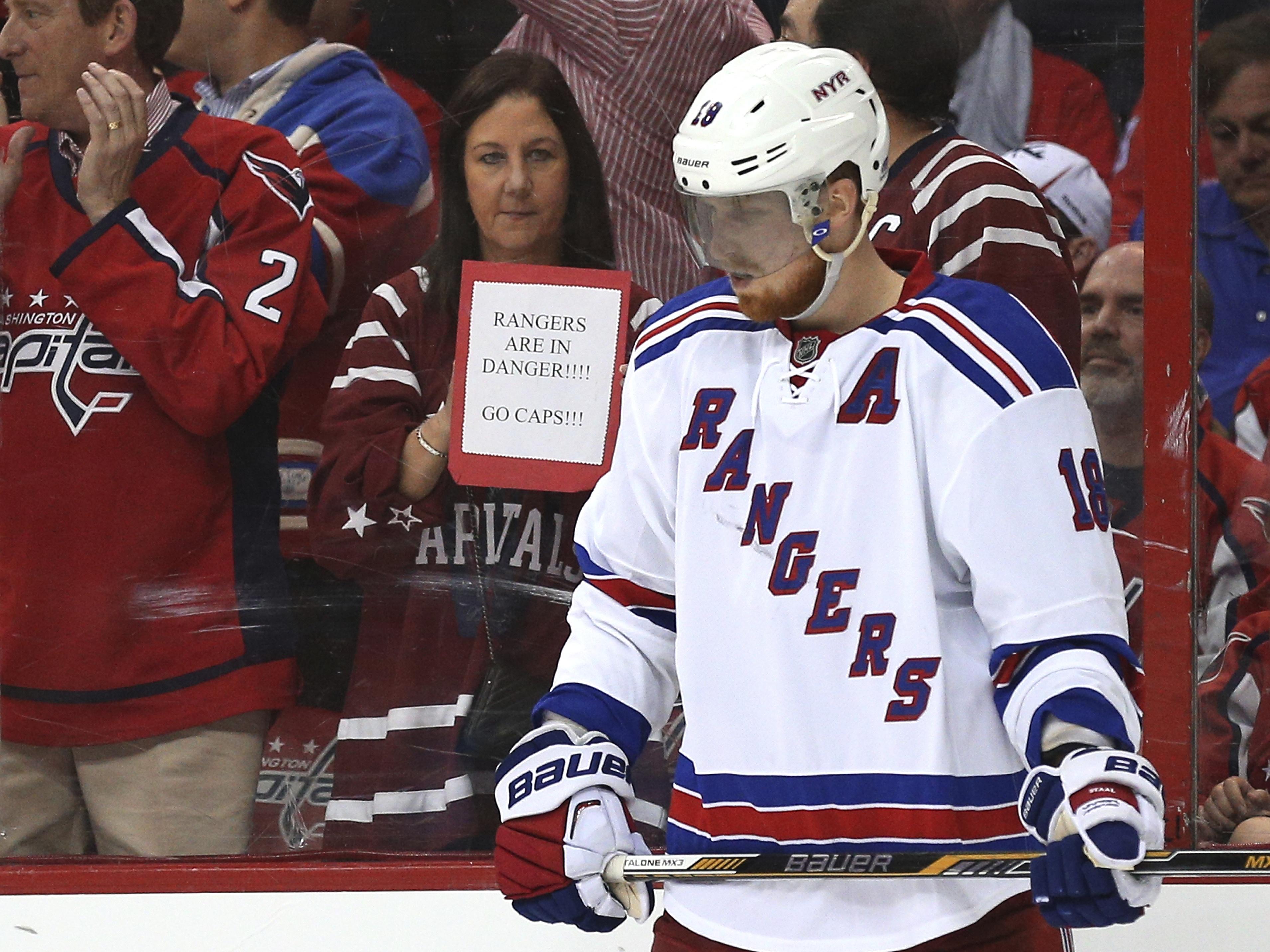 New York Rangers v Washington Capitals – Game Four