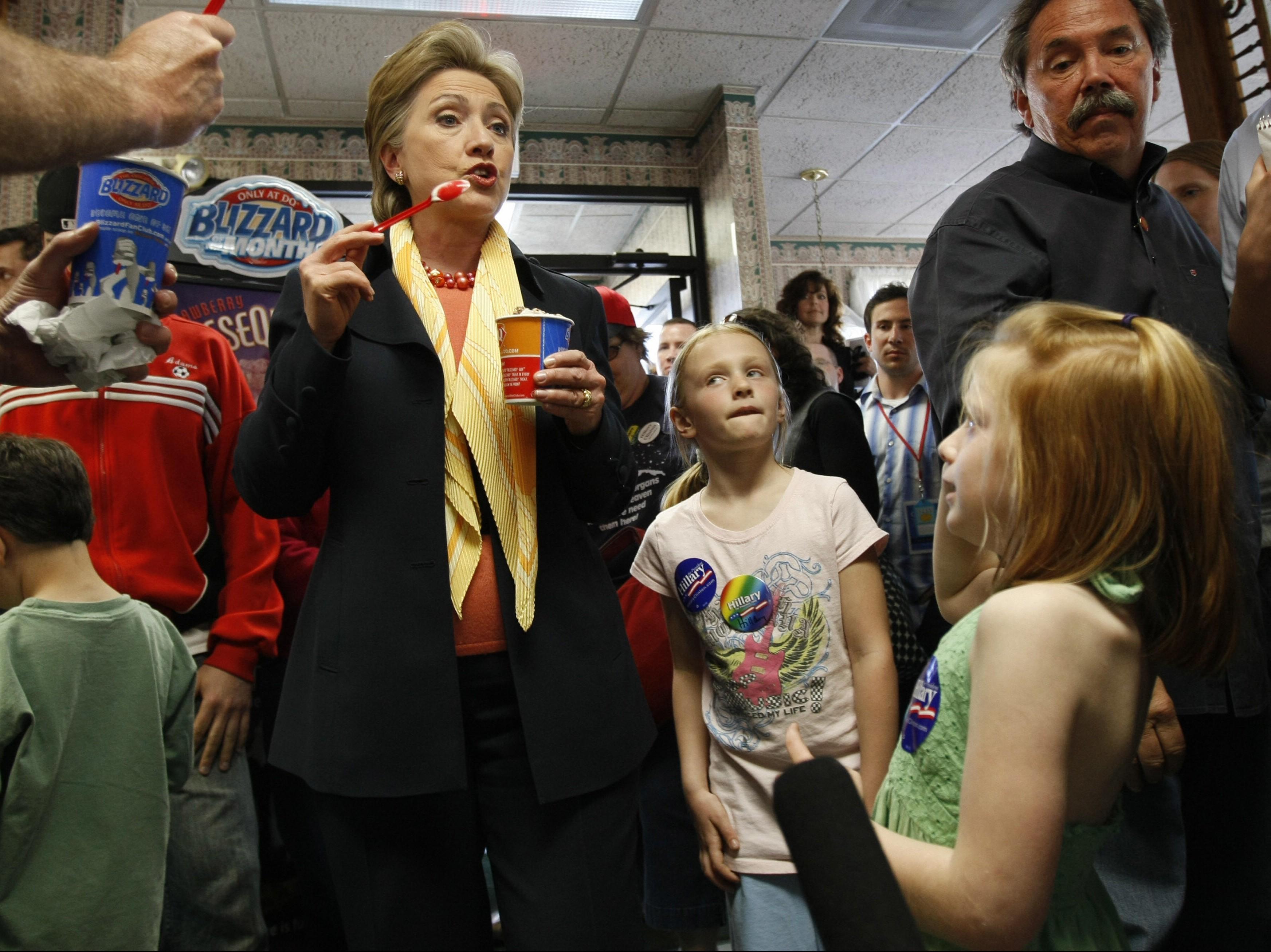 US Democratic presidential hopeful New Y