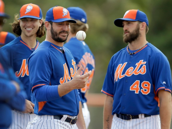 Jacob deGrom, Jonathon Niese, Matt Harvey