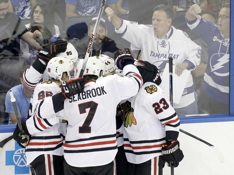 Stanley Cup Blackhawks Lightning Hockey