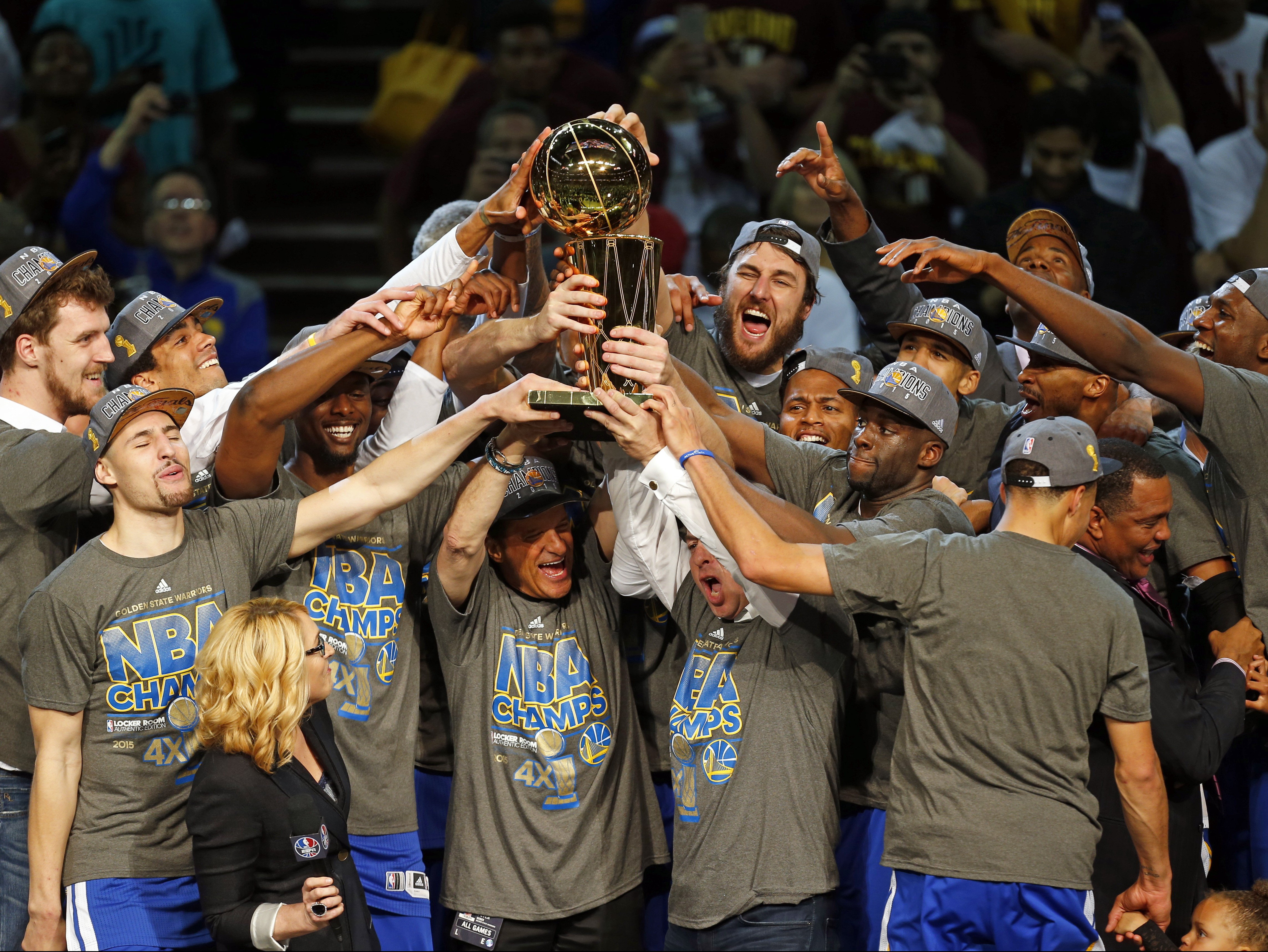 APTOPIX NBA Finals Warriors Cavaliers Basketball