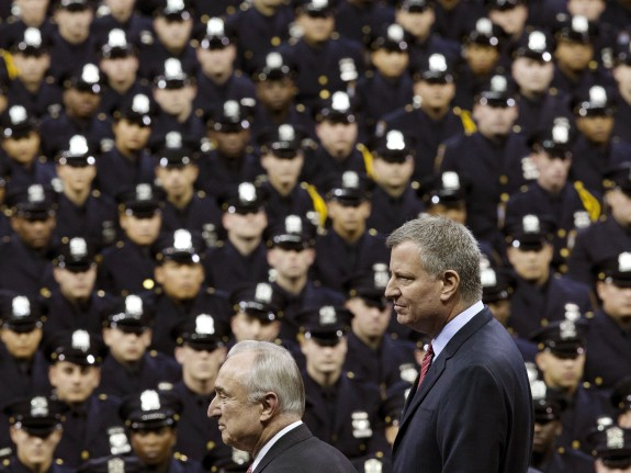 Bill de Blasio, Bill Bratton