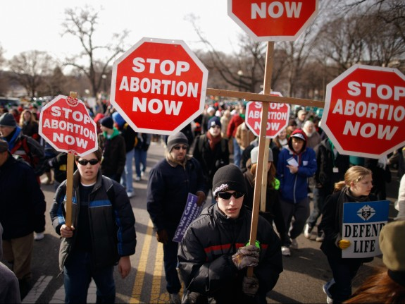 38th Annual March For Life Winds Through Washington