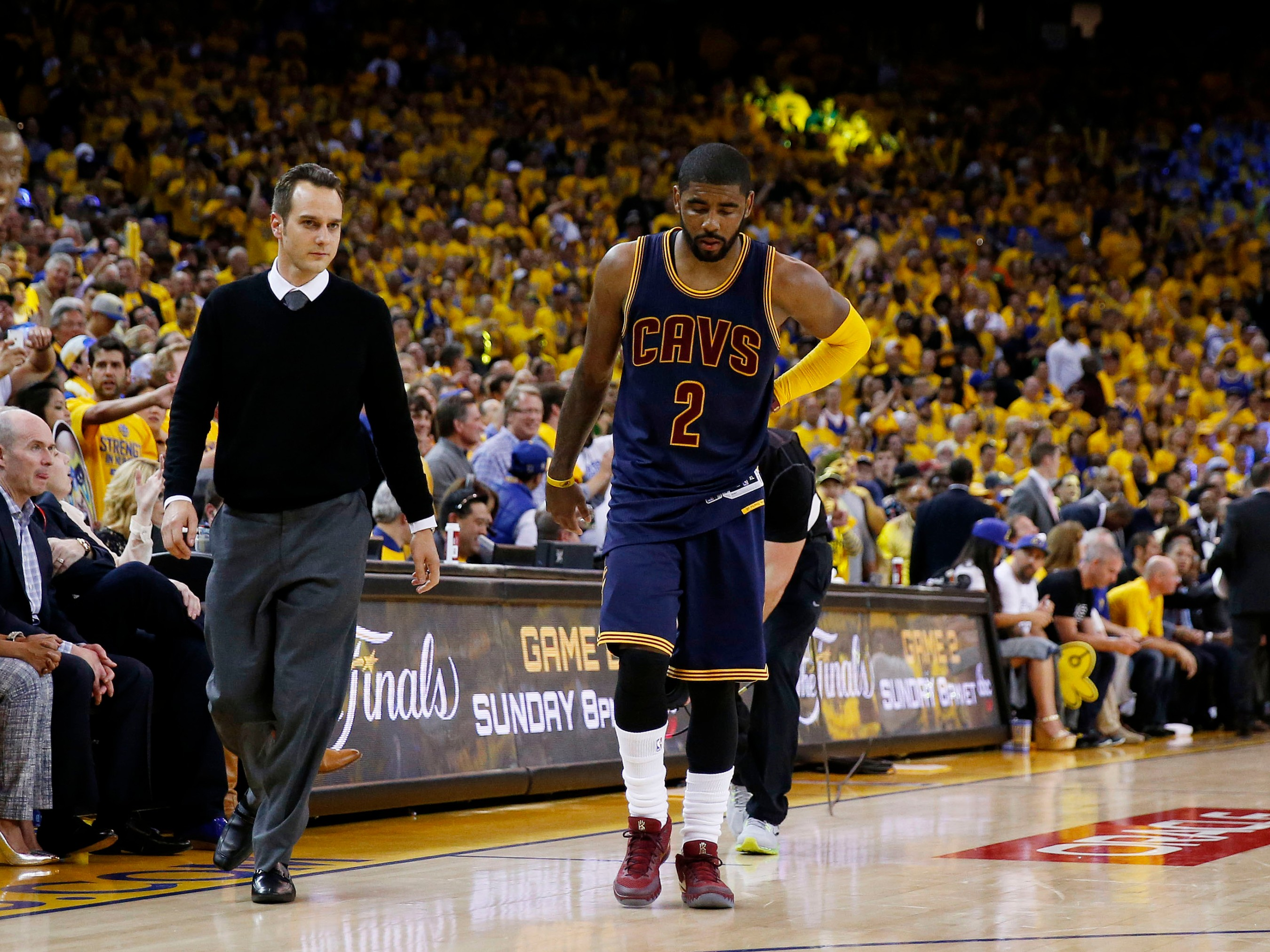 7f677eef6847 What Kyrie Irving s Injury Could Mean For The Cavs  Chances ...