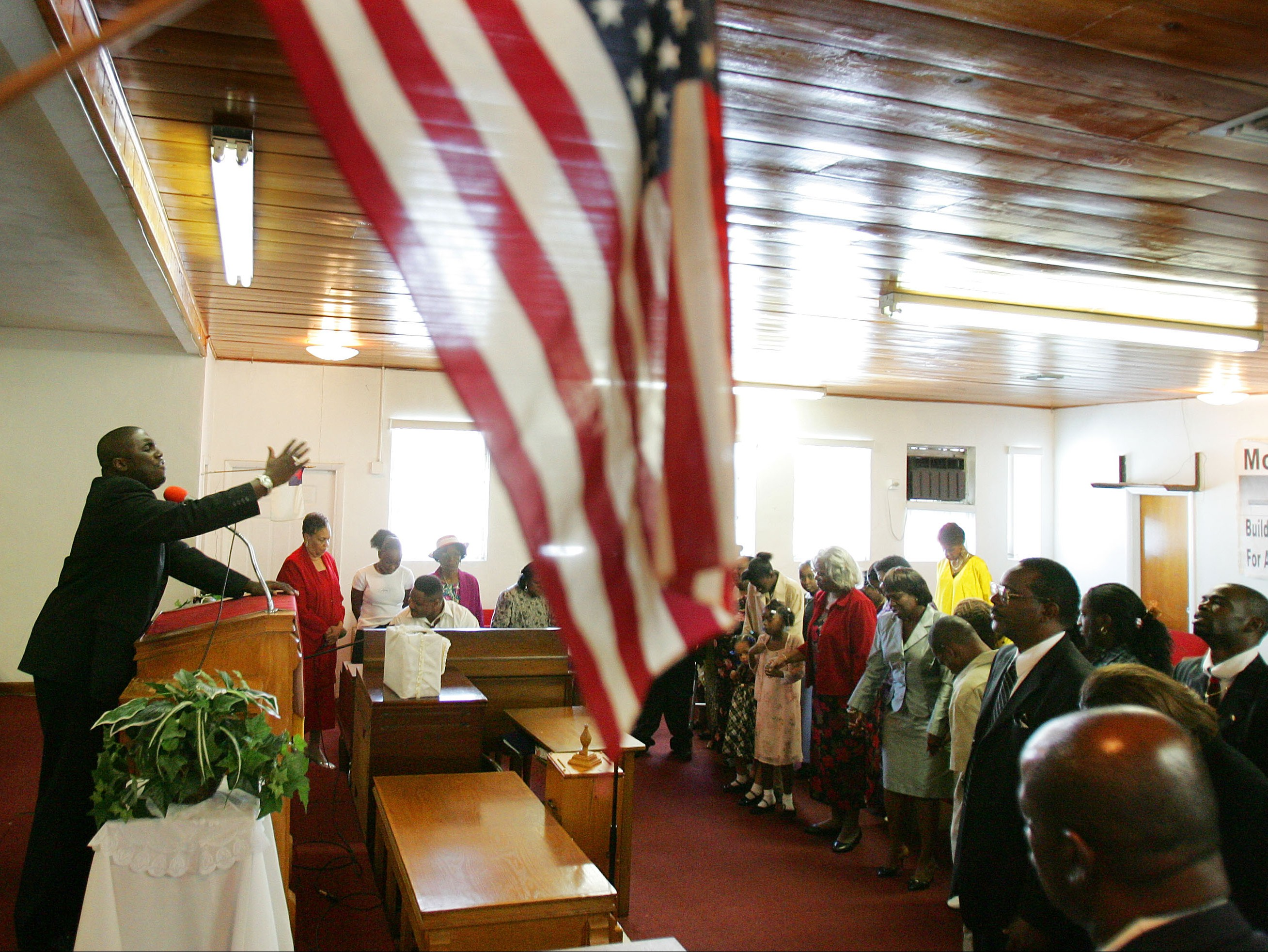 African-American Churches Exhort Voters To Go To Polls