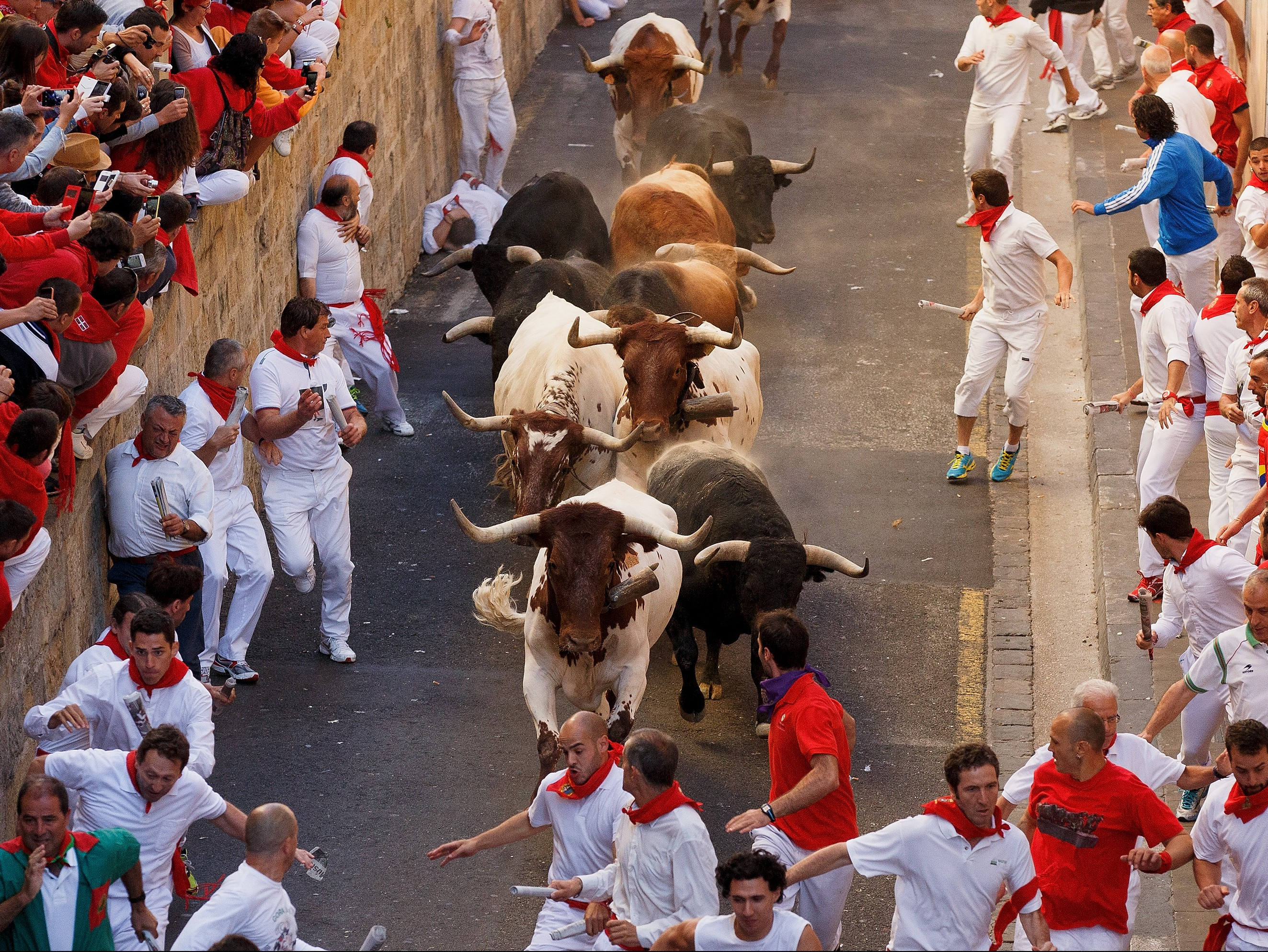 San Fermin Running of the Bulls 2015 – Day 8