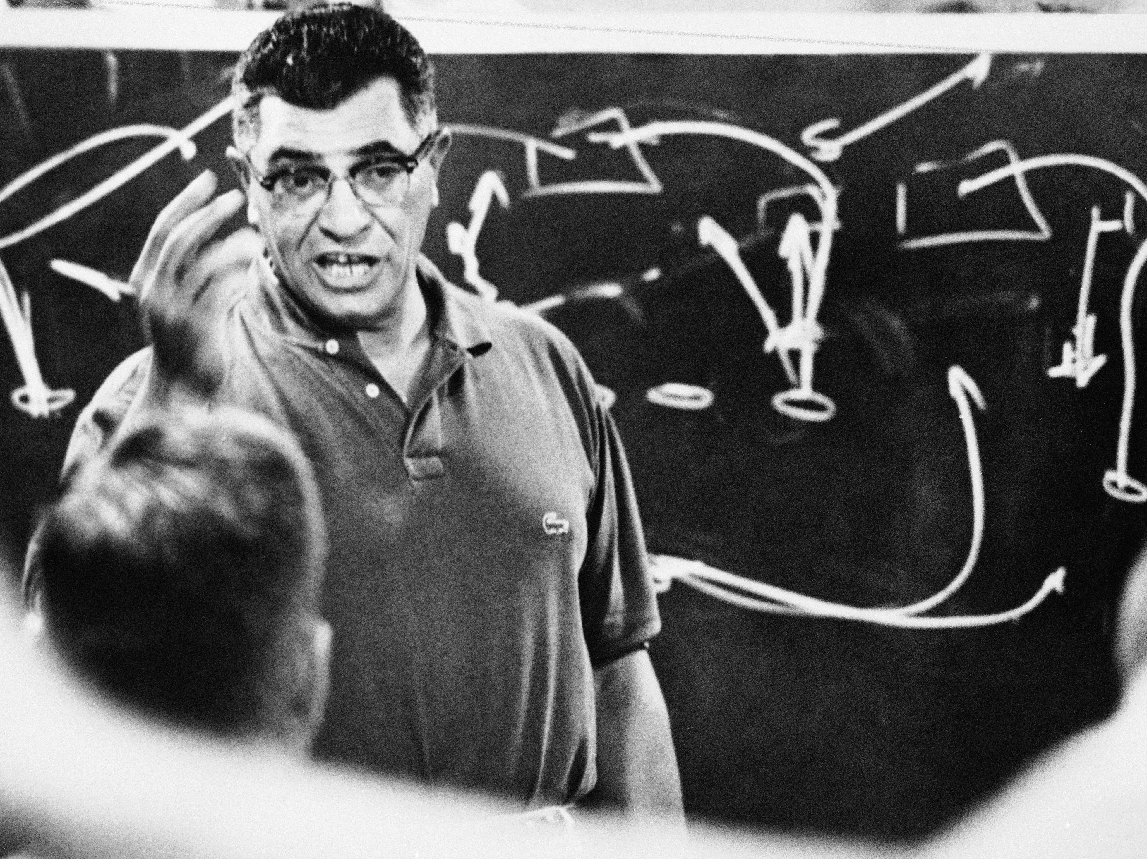 Vince Lombardi Teaches Strategy