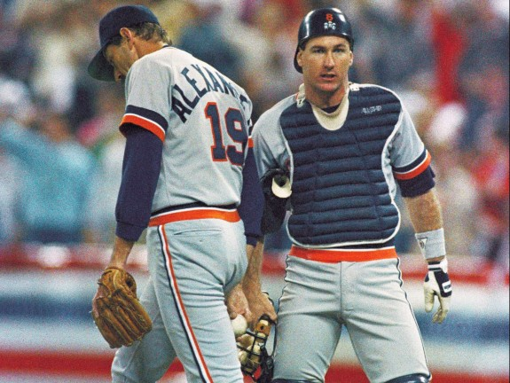 Twins vs Tigers AL Playoffs 1987