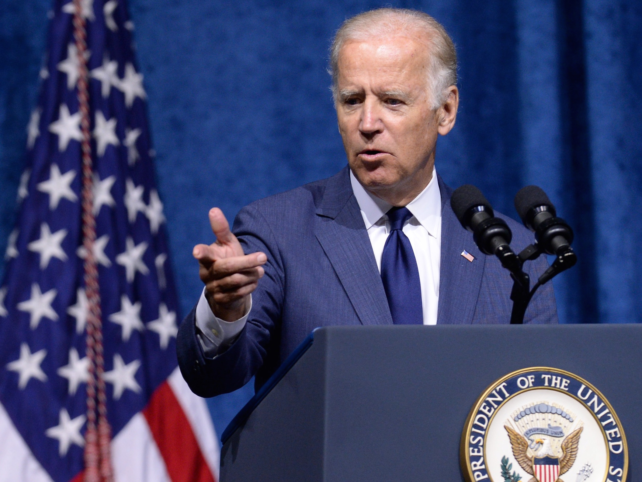 VP Biden And Defense Secretary Carter Attend Memorial Service For Servicemen Killed In Chattanooga Shooting