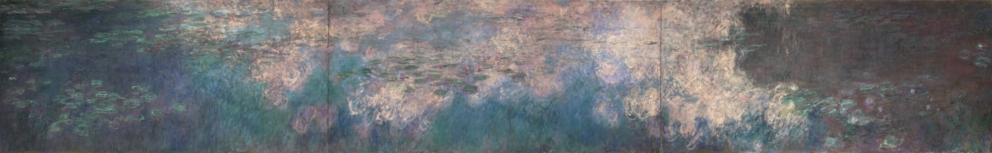 "Claude Monet, ""Water Lilies,"" 1914-26."