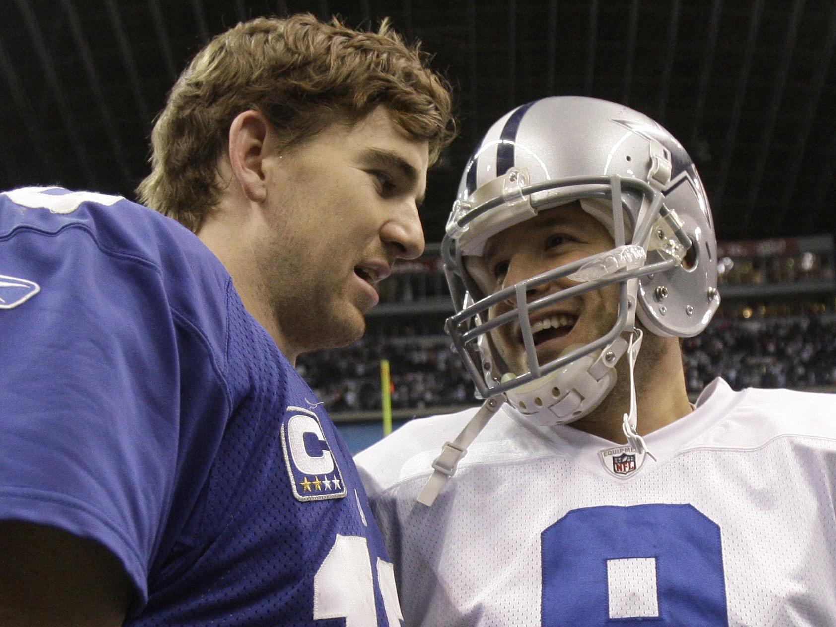 Tony Romo, Eli Manning