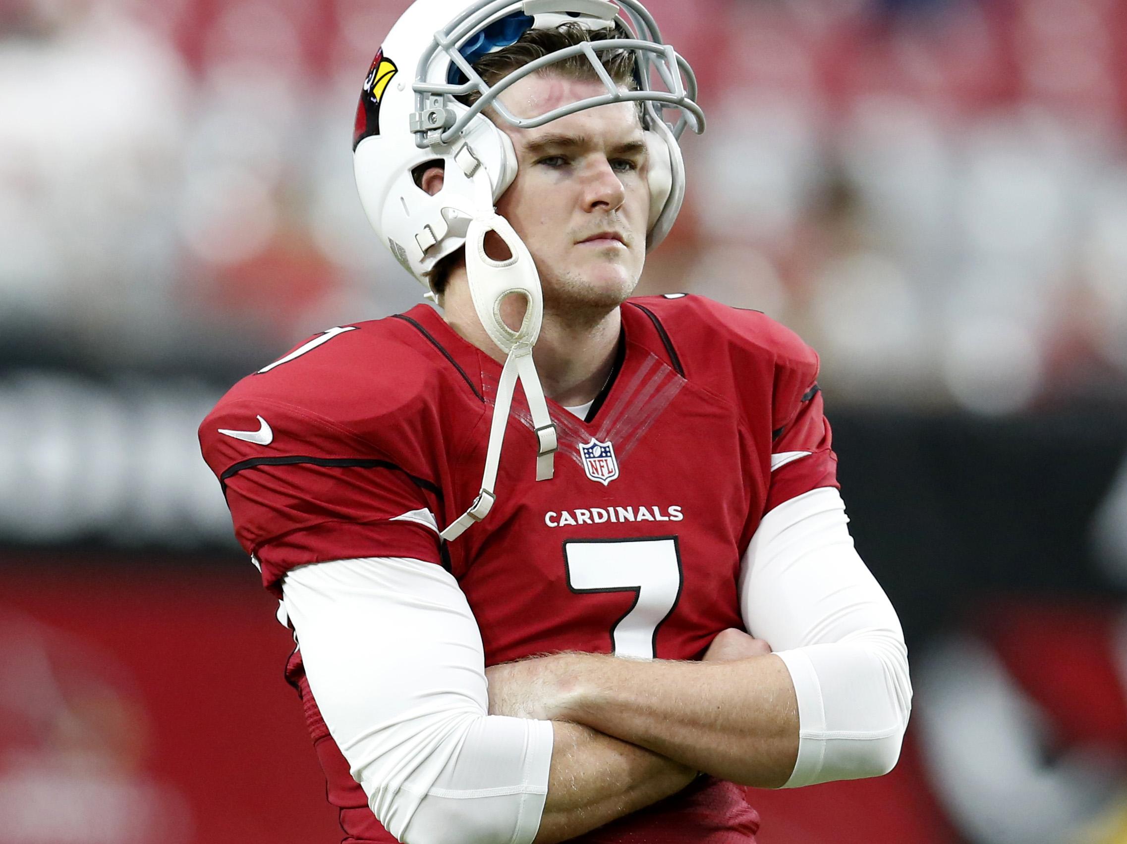 Arizona Cardinals kicker Chandler Catanzaro.