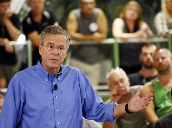 GOP 2016 Bush Trump