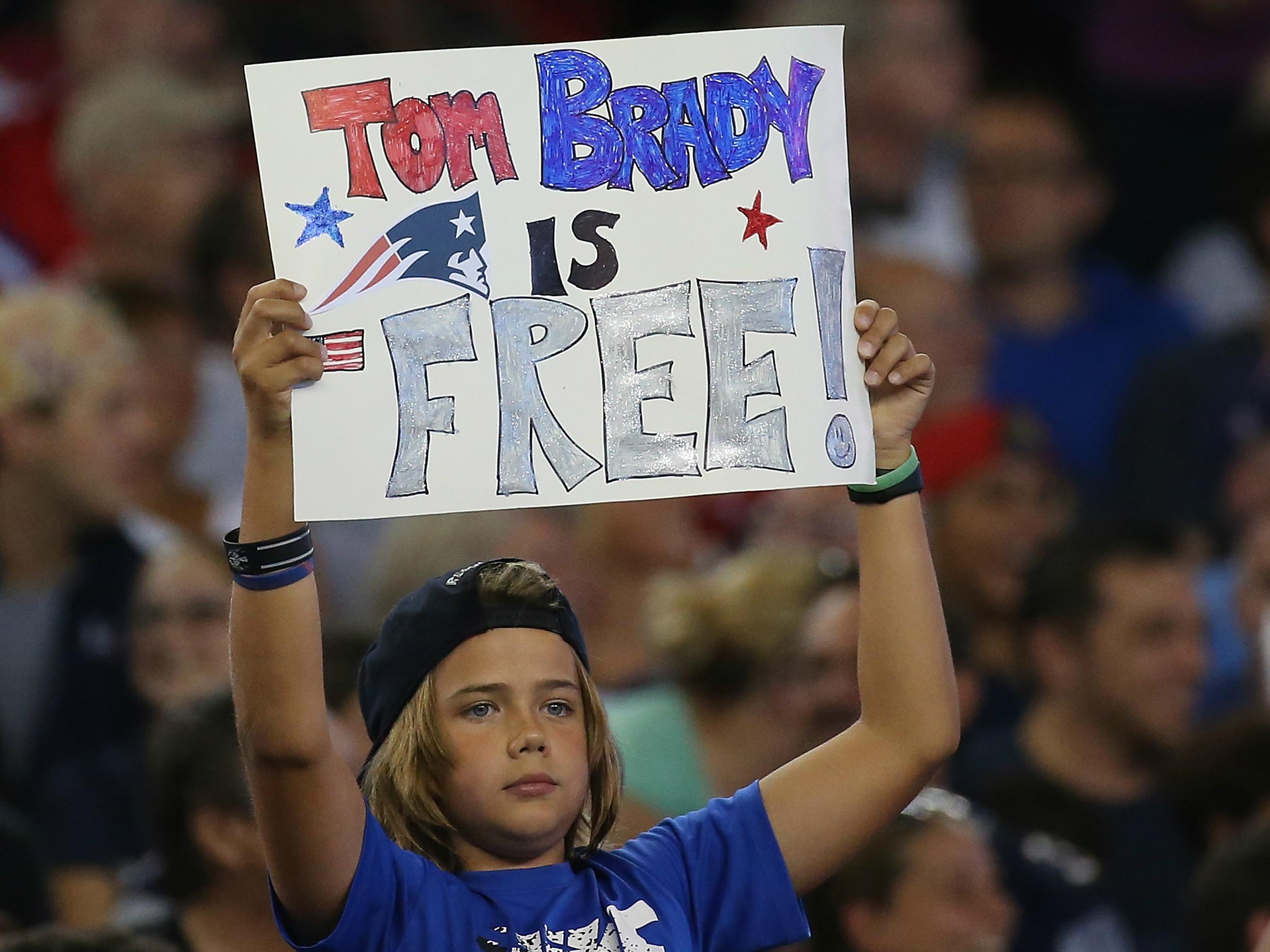 Tom Brady Is Free