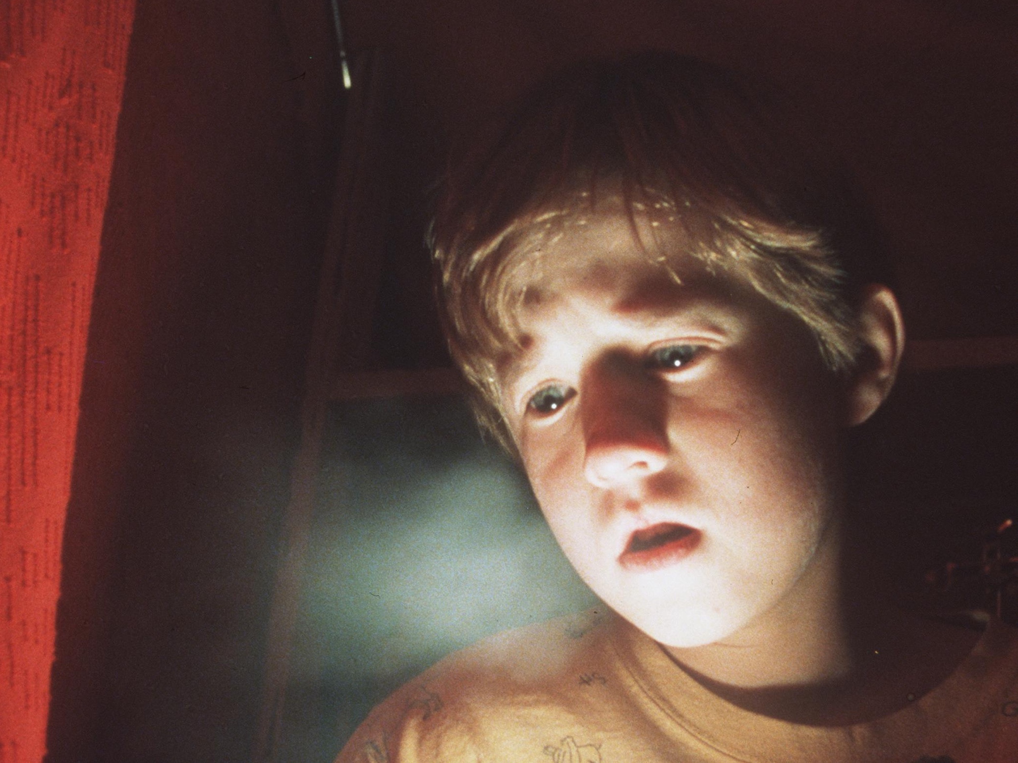 Frightened By His Paranormal Powers 8 Year Old Cole Sear (Haley Joel Osment Is Too Young To Unders