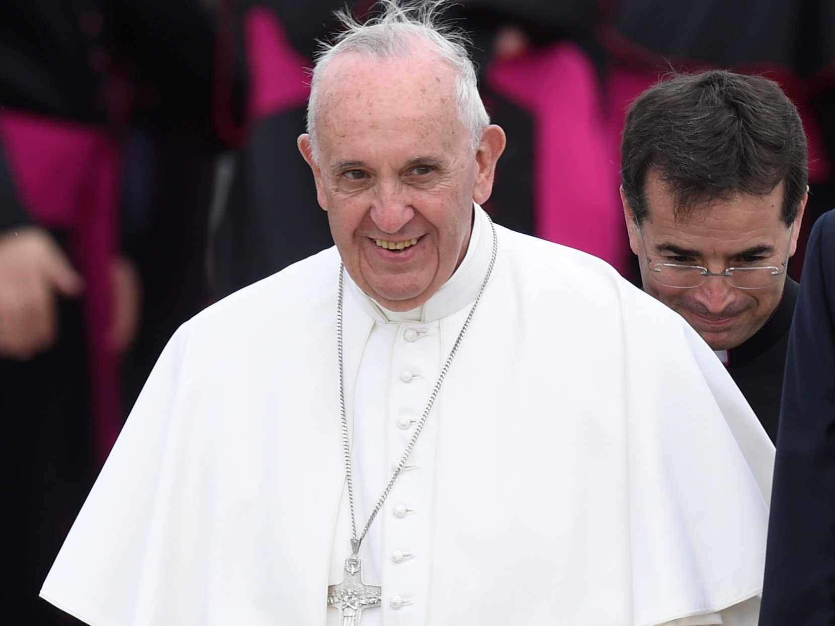 a look at the papacy The duties of the pope, and what happens when the office is vacant  he's  looking at a very broad overview of the universal church, the.