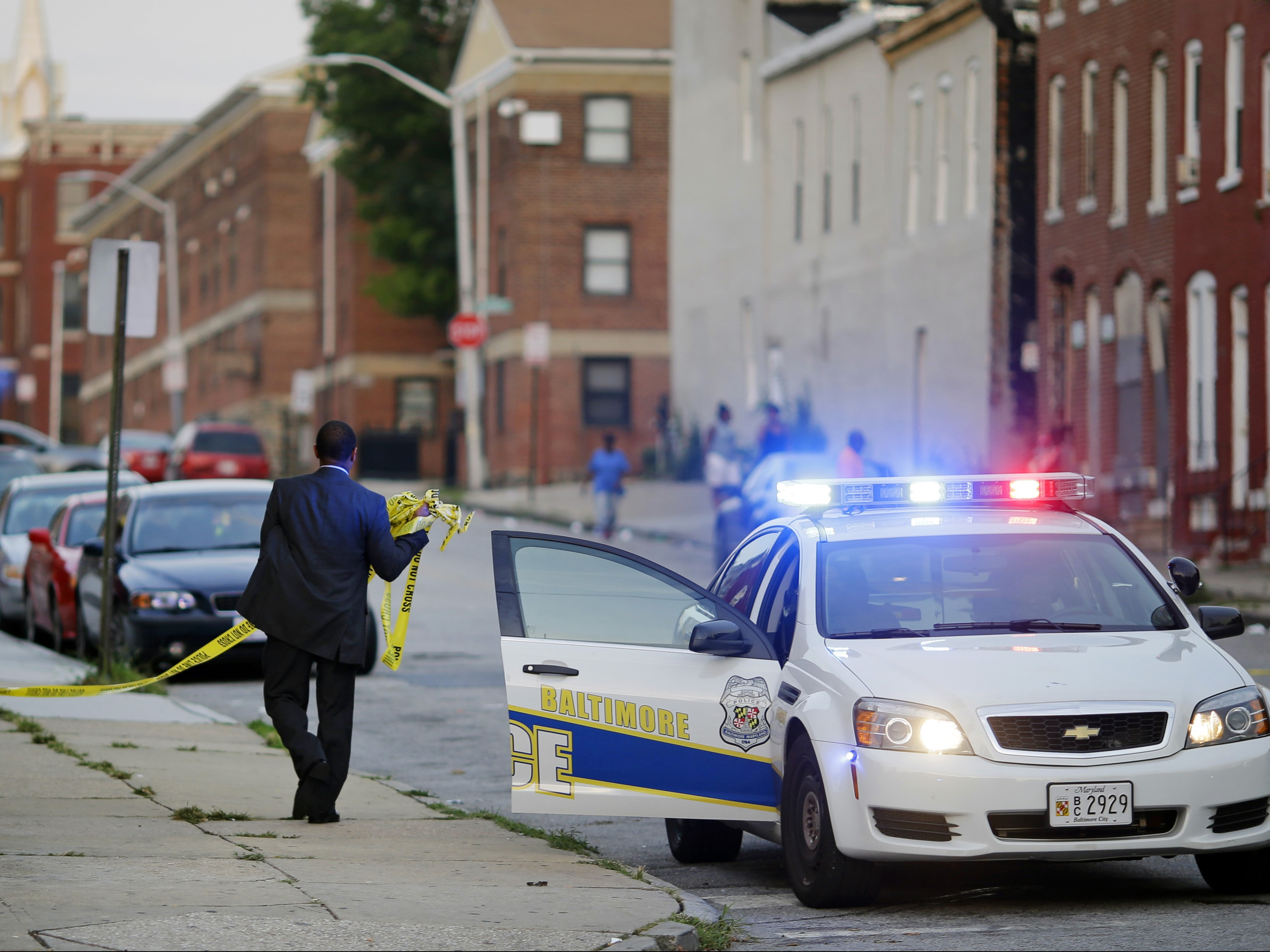Baltimore Homicide Spike