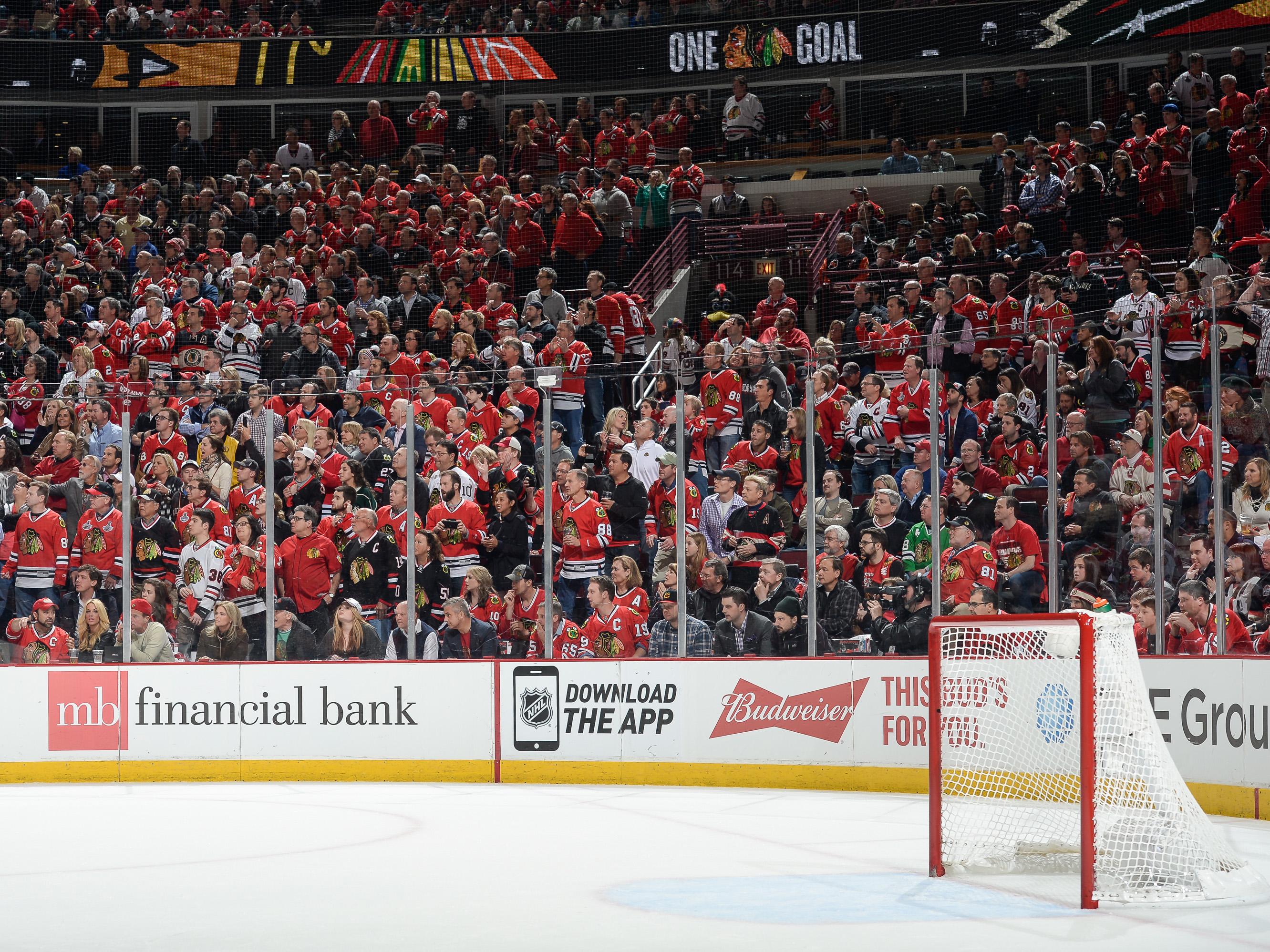 Minnesota Wild v Chicago Blackhawks – Game One