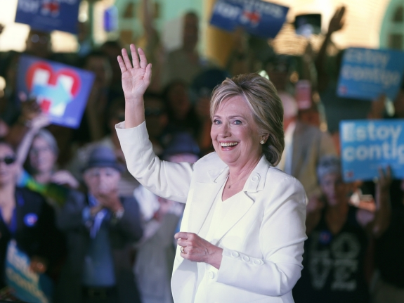 Democratic U.S. presidential hopeful Hillary Clinton Hosts Latinos For Hillary Event In San Antonio