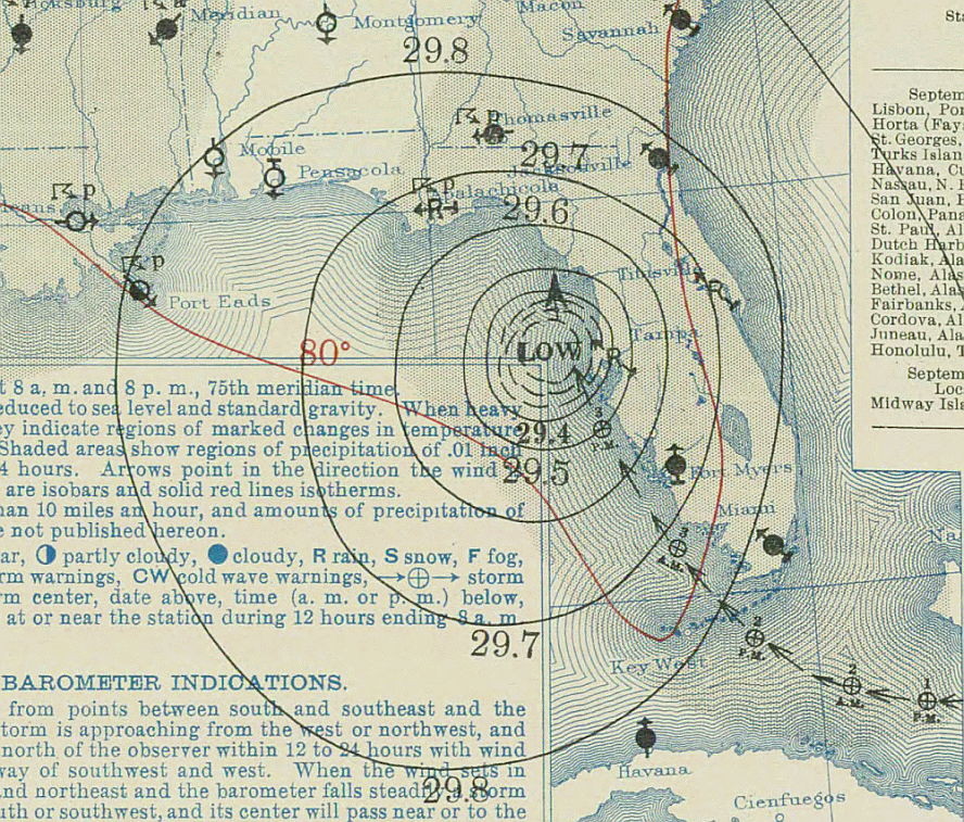Labor_Day_hurricane_1935-09-04_weather_map