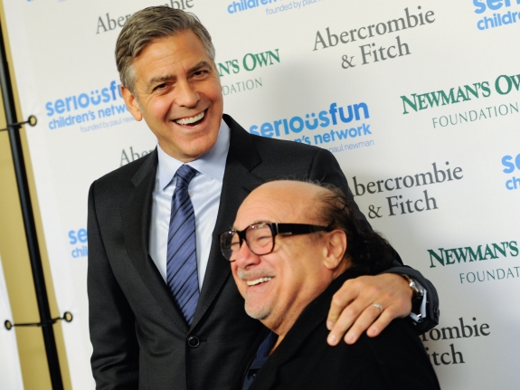 George Clooney, Danny DeVito