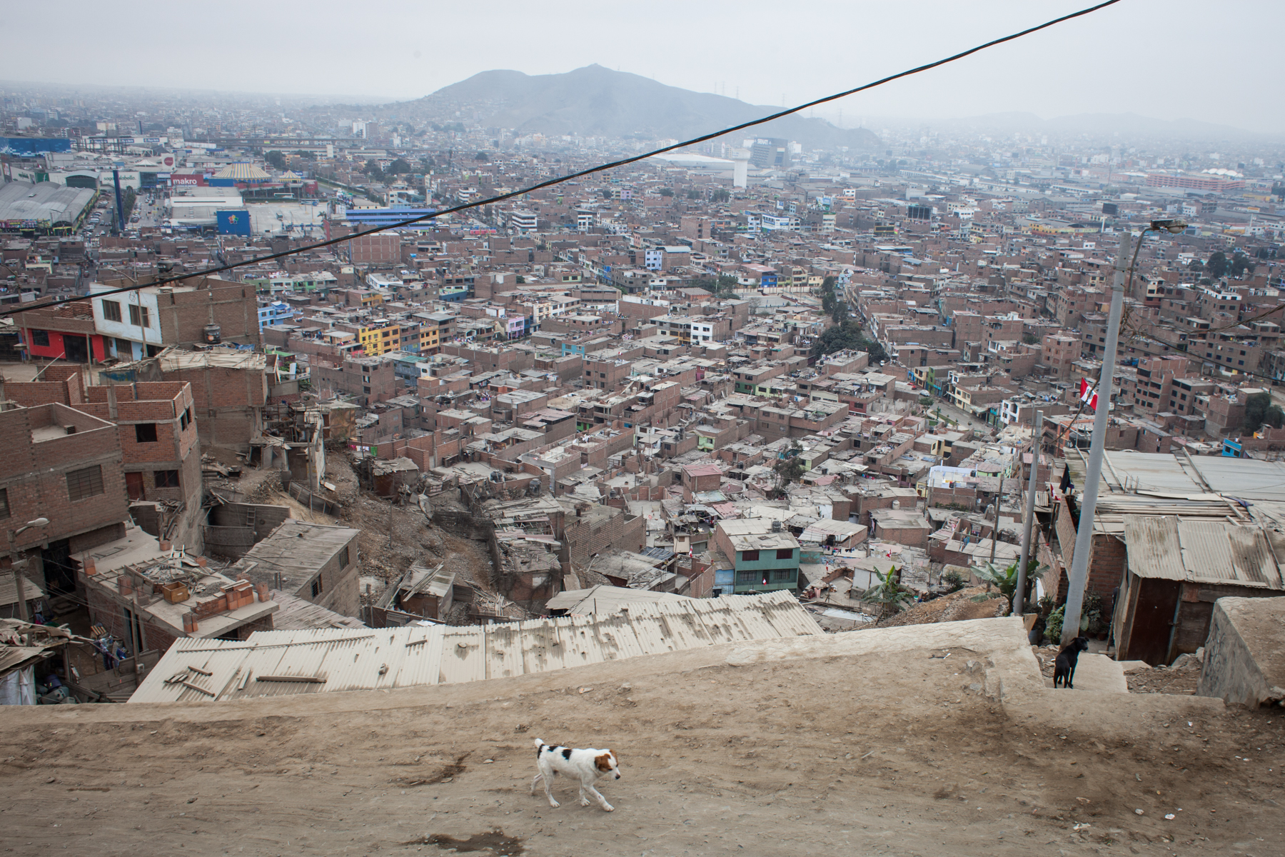 About a third of Peru's 30 million residents live in the capital, Lima. The majority of the country's HIV cases are concentrated here.