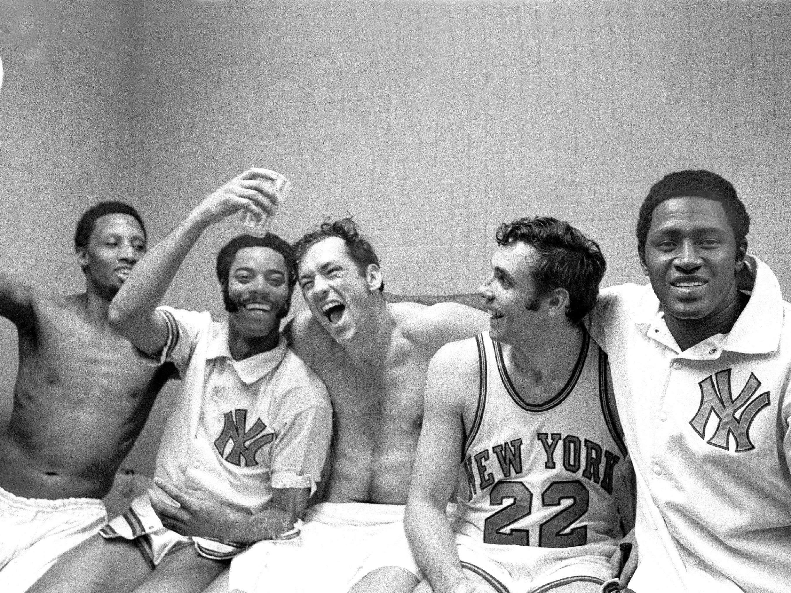 Image result for willis reed bill bradley win nba championship