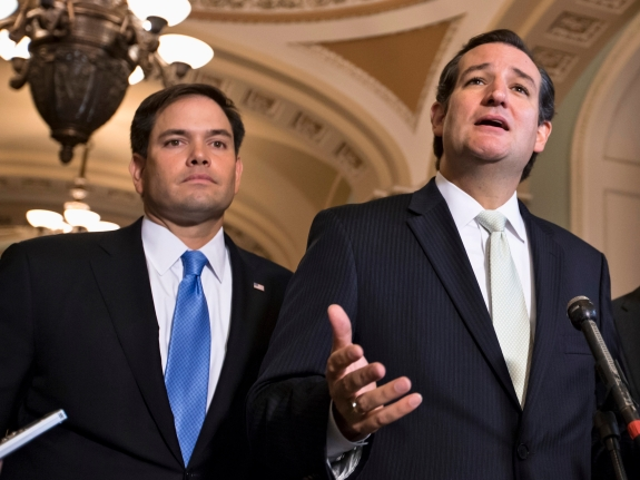 Ted Cruz, Marco Rubio, Mike Lee