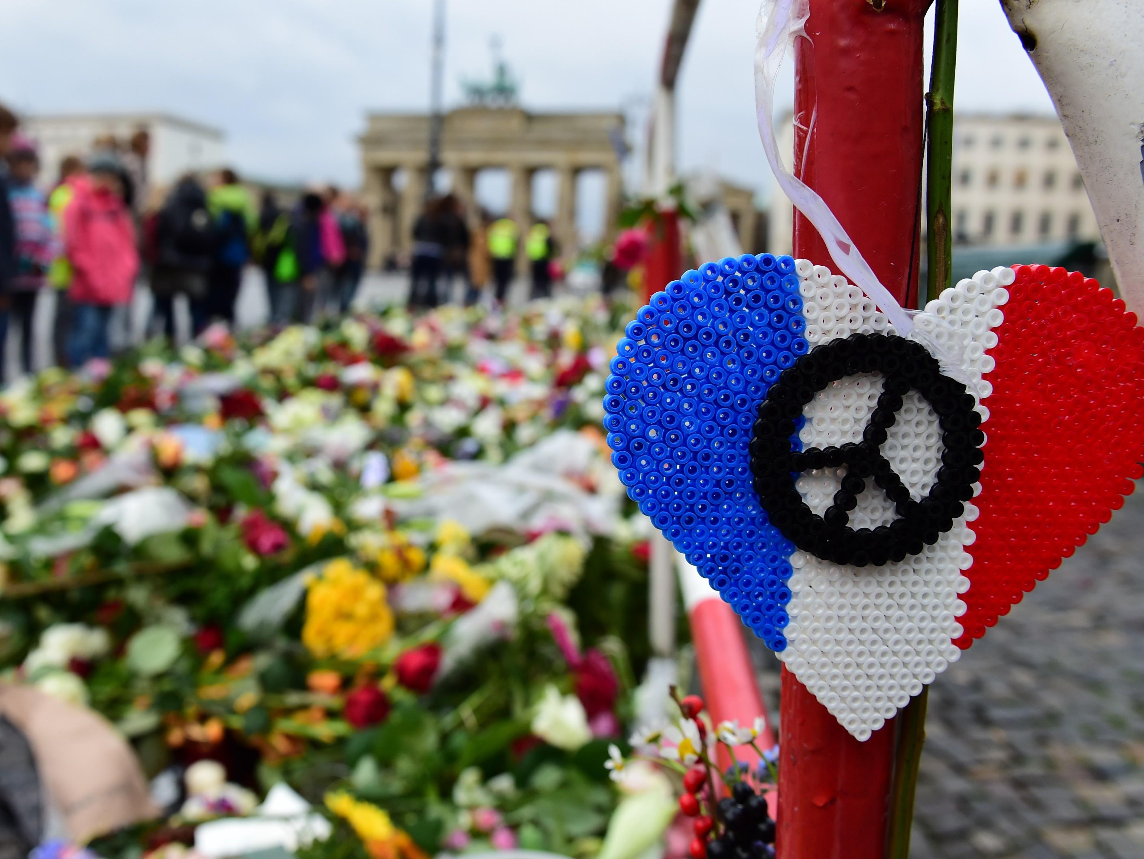 GERMANY-FRANCE-ATTACKS-MEMORIAL