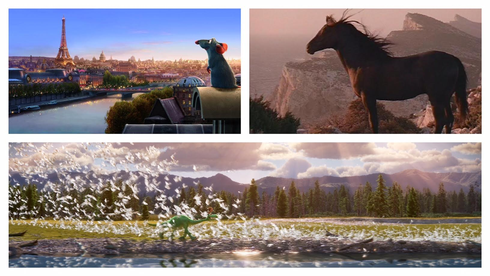"""Ratatouille,"" ""Black Stallion,"" and ""The Good Dinosaur"""