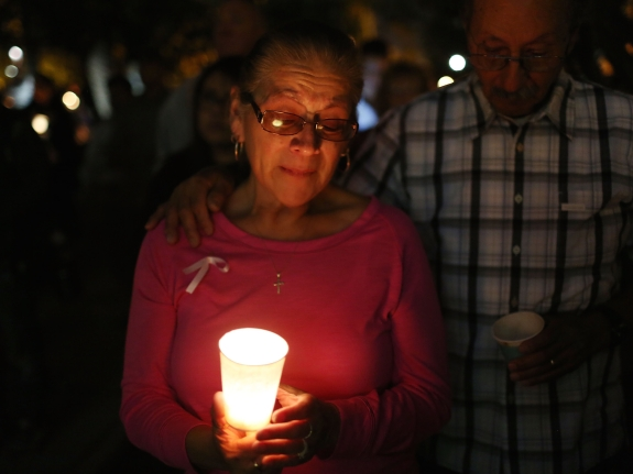 Community Mourns As Investigation Continues Into San Bernardino Mass Shooting