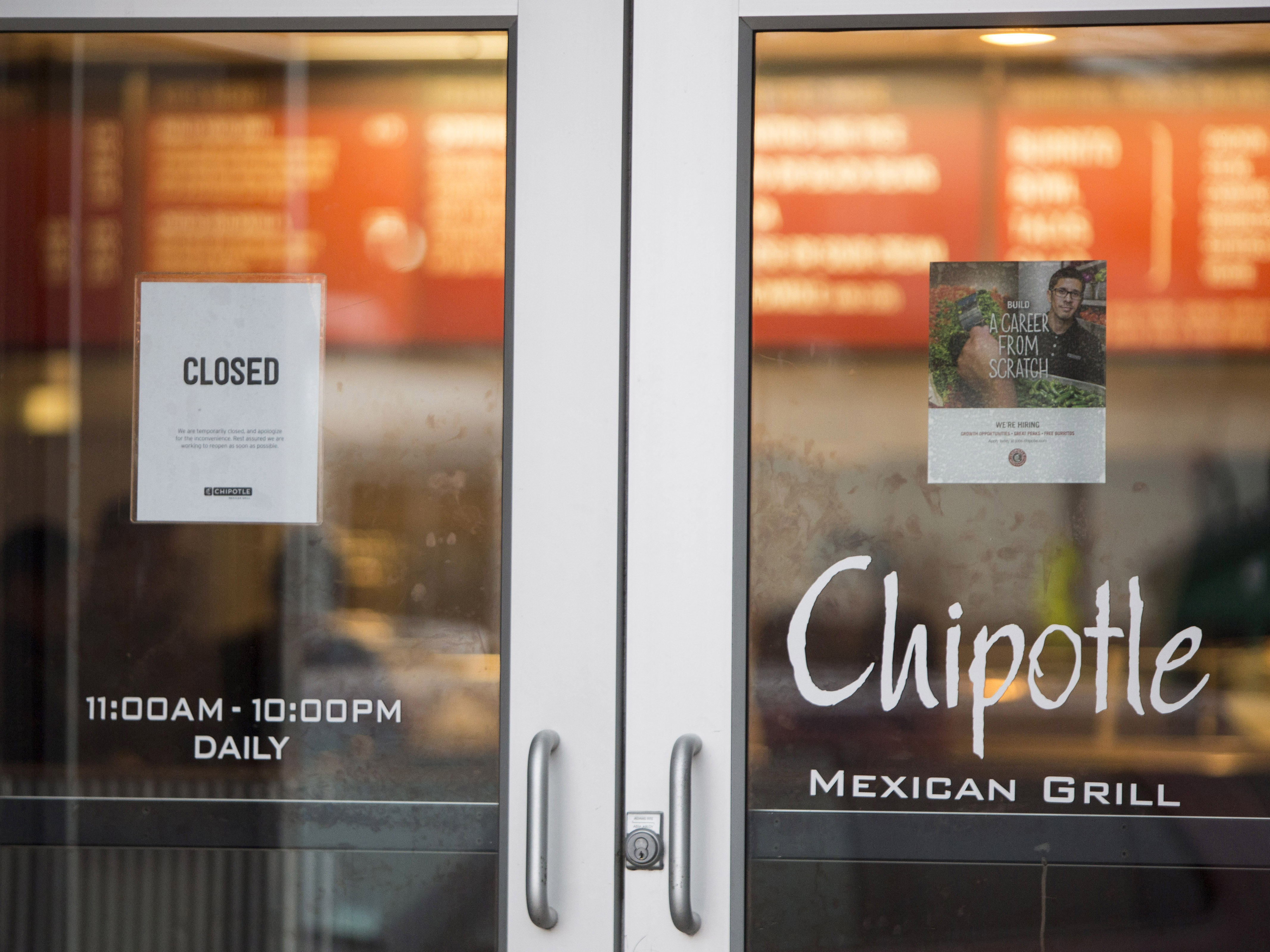 80 Boston College Students Fall Ill After Eating At Chipotle Restaurant