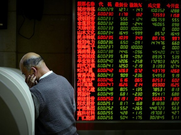 CHINA-ECONOMY-STOCKS