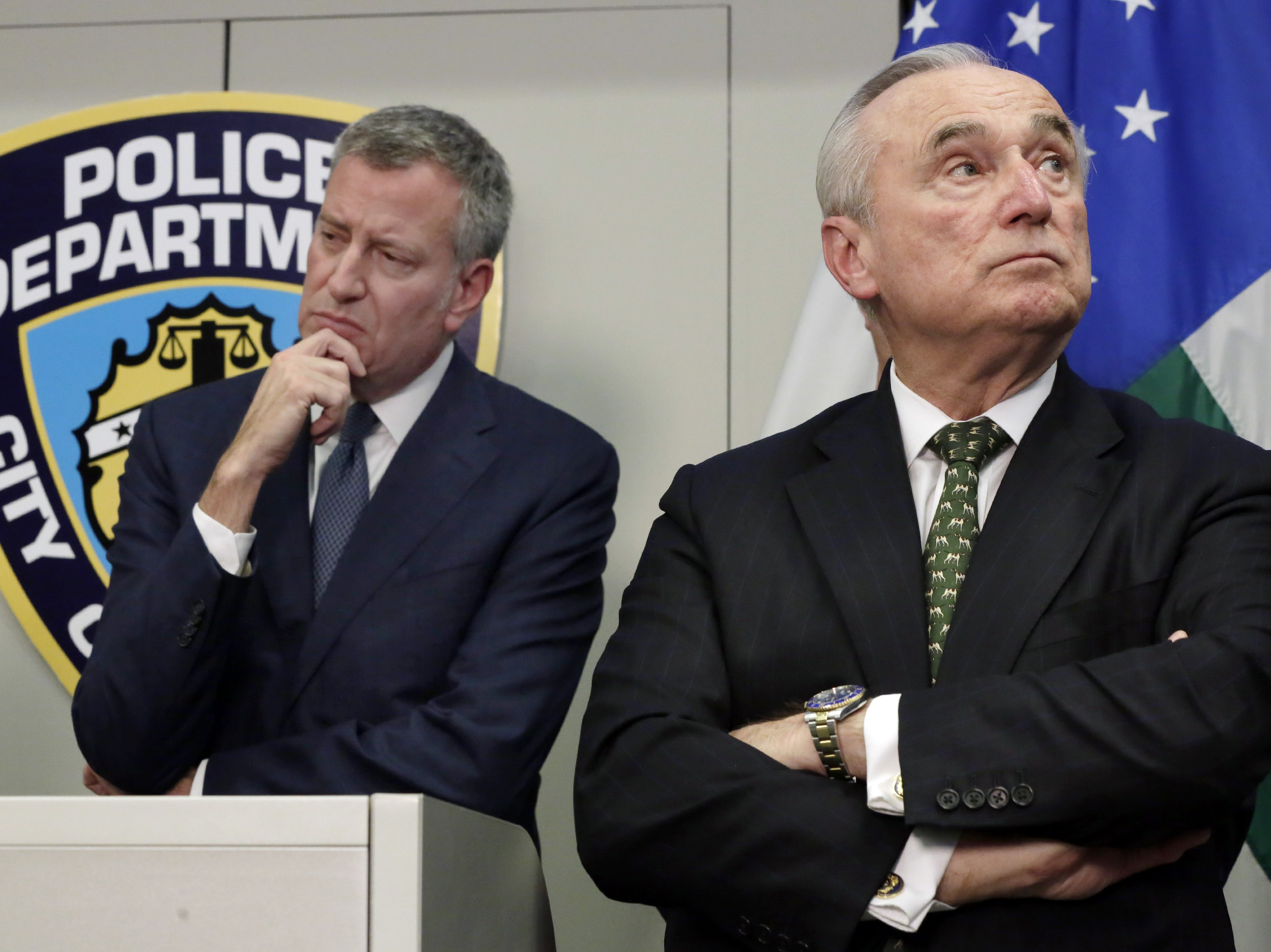 William Bratton, Bill deBlasio
