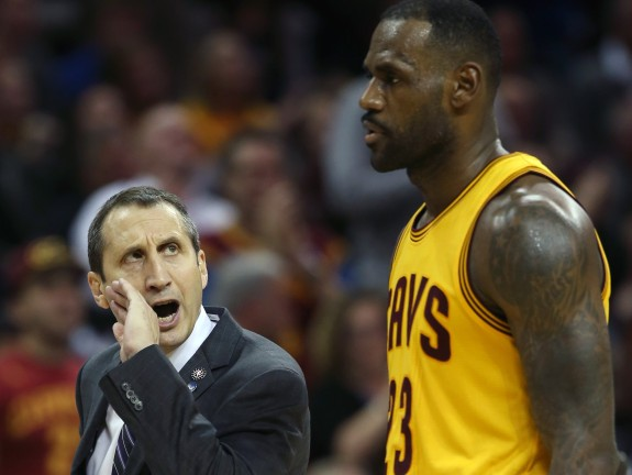 David Blatt, LeBron James
