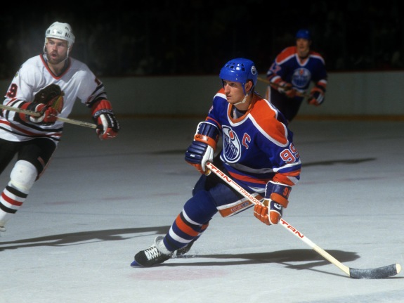 1985 Western Conference Finals:  Edmonton Oilers v Chicago Blackhawks