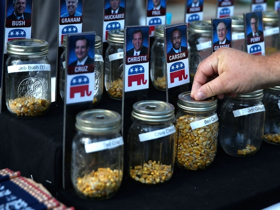 Presidential Candidates Stump At Iowa State Fair