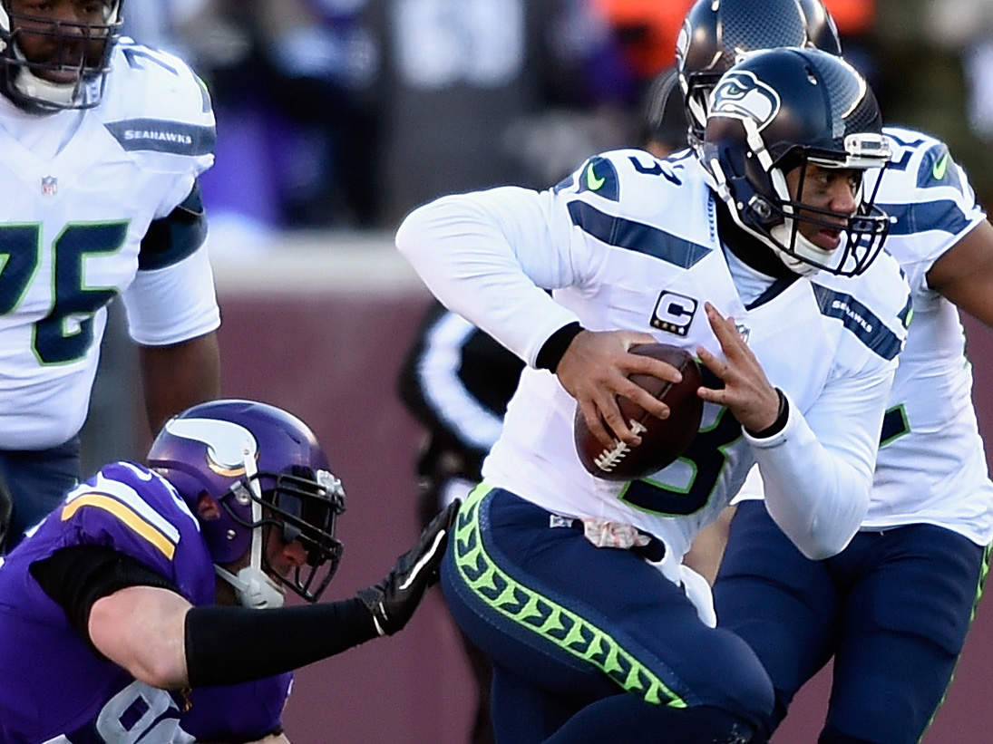 Wild Card Round – Seattle Seahawks v Minnesota Vikings
