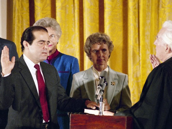 Antonin Scalia, Warren Burger