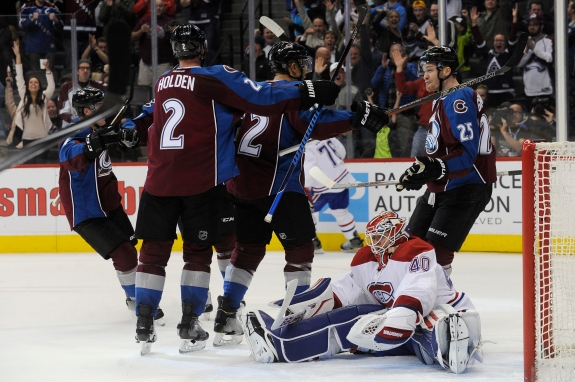 Colorado Avalanche vs Montreal Canadiens