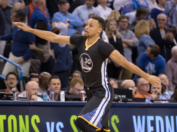 Golden State Warriors v Oklahoma City Thunder