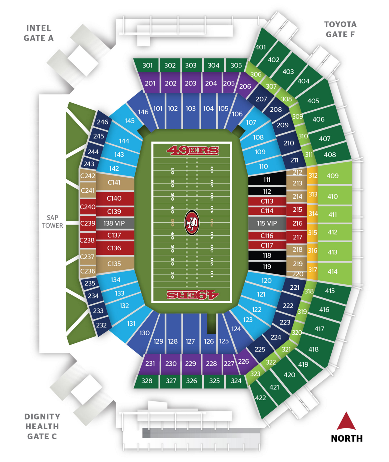 Levi's sections