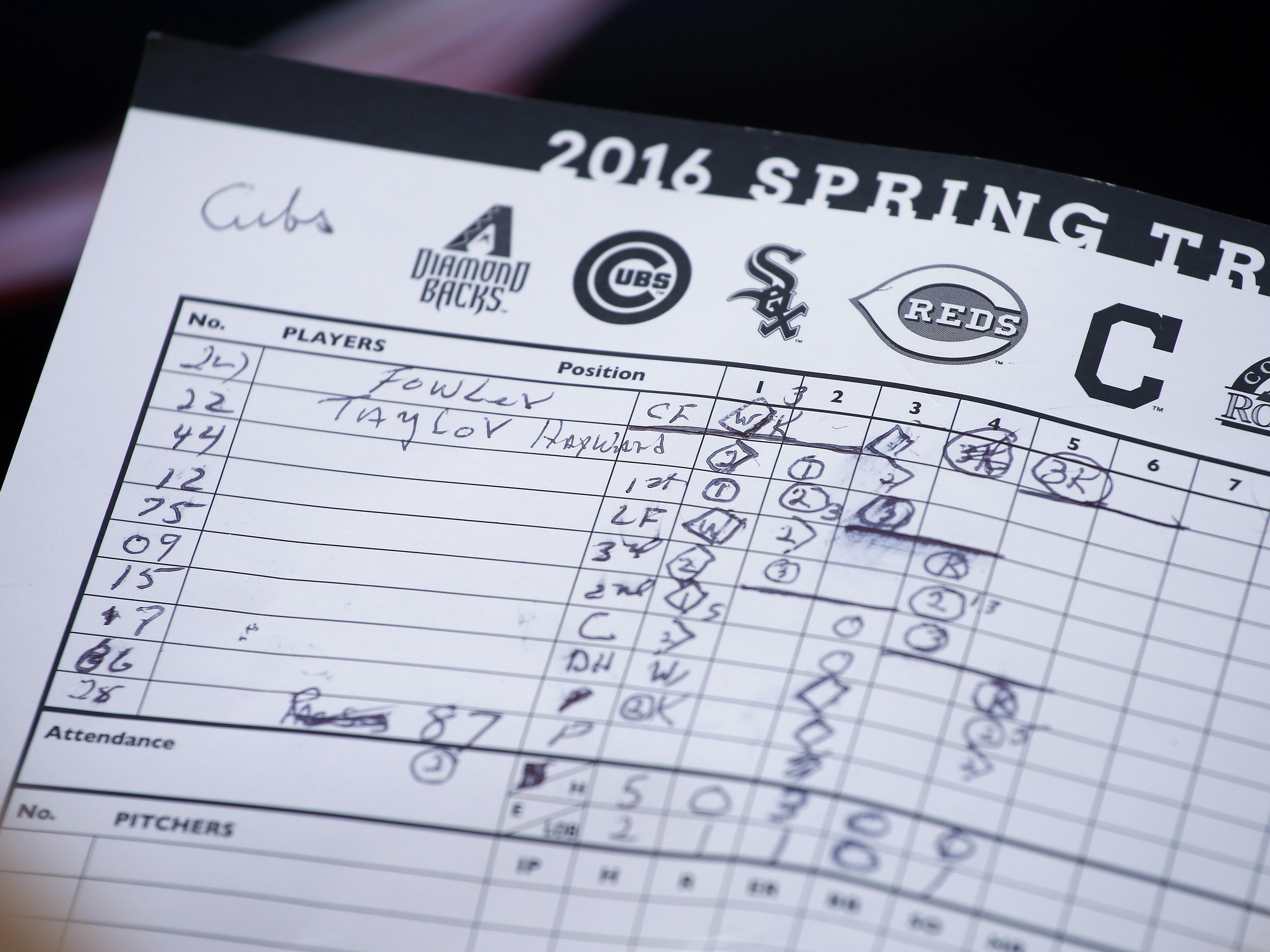 Cubs Padres Spring Baseball
